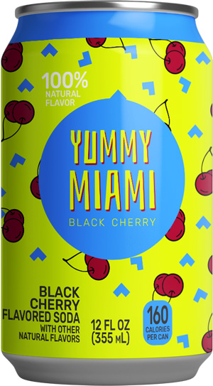 Yummy Miami Black Cherry Soda®