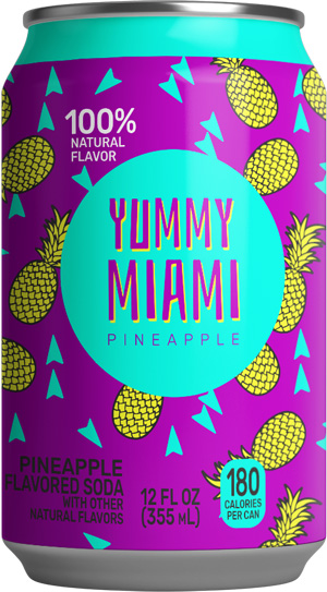 Yummy Miami Pineapple Soda®