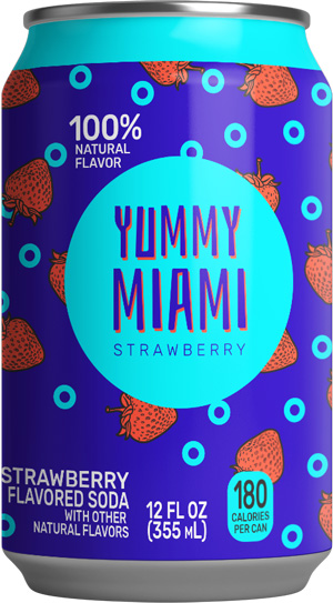 Yummy Miami Strawberry Soda®